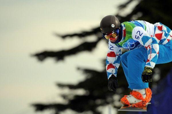Tony Ramoin, médaillé olympique à Vancouver en 2010