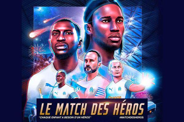 Le vélodrome va accueillir un match de gala réunissant des grands noms comme Jul, Eric Di Meco ou encore Didier Drogba. Une rencontre caritative pour les enfants de Côte d'Ivoire.