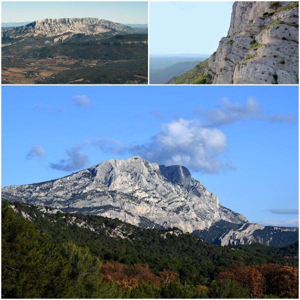 La Sainte victoire, Aix-en-Provence, Bouches-du-Rhône