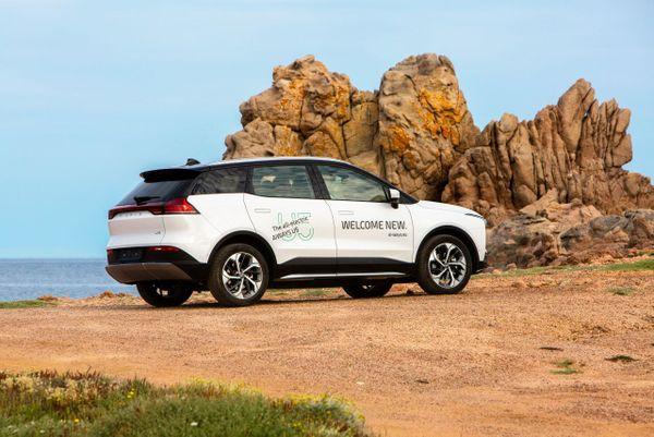 Le nouveau SUV U5 d'Aiways sera disponible à la location en juillet et seulement en Corse