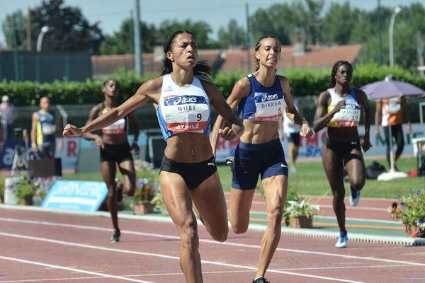 51''52 meilleure performance française de l'année sur le tour de piste du 400m pour Floria Gueï de l'Entente sud lyonnais