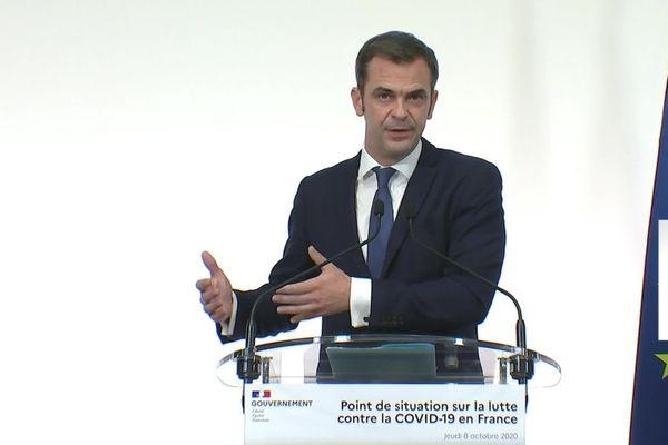 Olivier Véran, le 8 octobre 2020