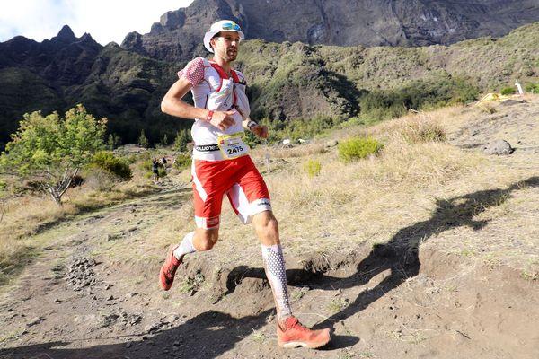 Le Savoyard François D'Haene a remporté trois fois la Diagonale des Fous, sur l'Île de la Réunion, en 2013, 2014 et en 2016 (photo).