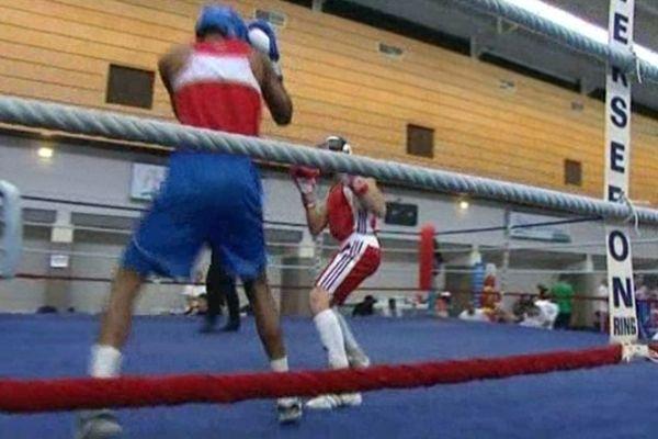 Les boxeurs français en entraînement dans la Corrèze