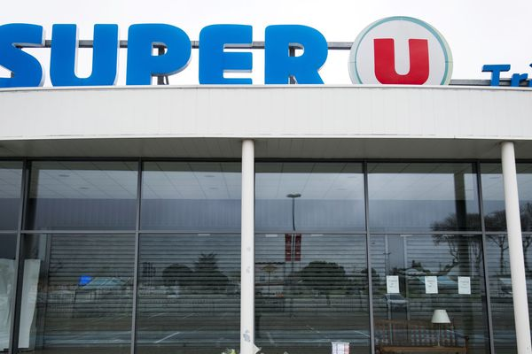 Super U de Trèbes. Photo d'archives.