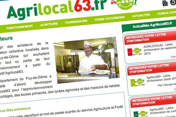 Acheteurs et producteurs locaux accèdent sur internet à la plate-forme Agrilocal 63 pour un circuit de proximité.