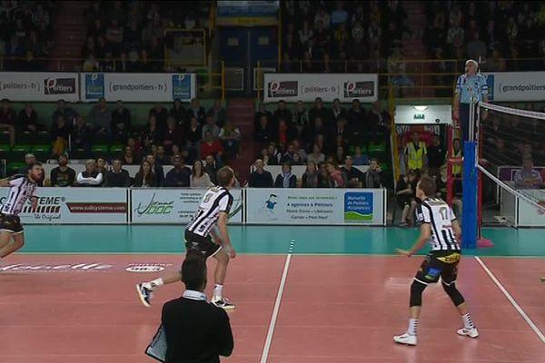 Le Stade Poitevin Volley Beach qualifié pour les demi-finales de la Coupe de France (image d'archives)