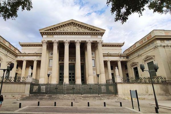 Le palais de justice de Nîmes, en 2019 (photo d'illustration).