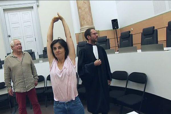 La Compagnie des Limbes a investi le Tribunal de Périgueux pour la représentation de sa pièce Témoignage