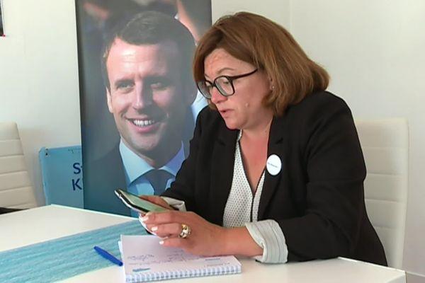 Stéphanie Kerbarh, députée de Seine-Maritime / Archives