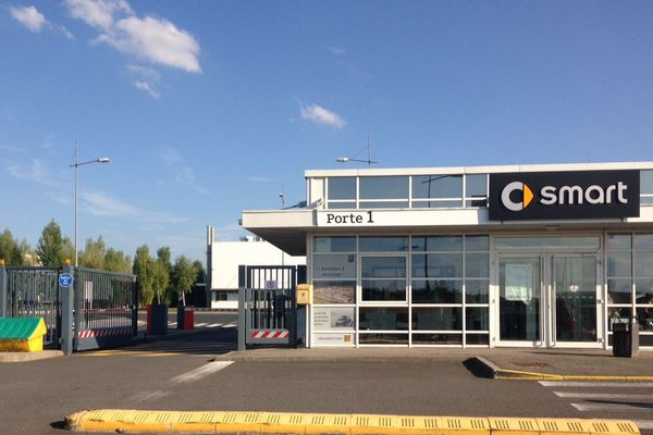 L'usine Smart, principal employeur sur l'Europôle de Hambach (800 salariés)