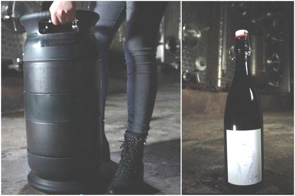 En fût ou en bouteille consignée, le vin de la maison Jean Huttard se veut éco-responsable. [L'abus d'alcool est dangereux pour la santé]