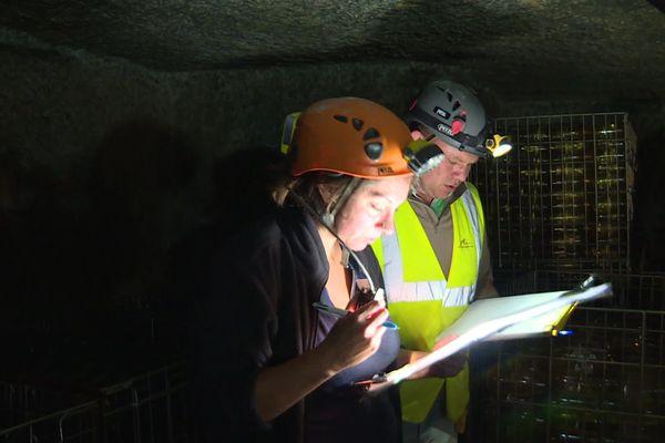 Les cavités et galeries souterraines surveillées en Anjou