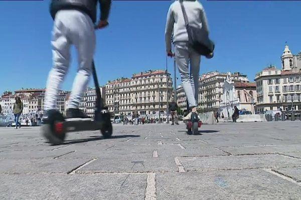 Des contrôles de police ont eu lieu ce mercredi dans le centre-ville de Marseille pour faire appliquer une réglementation encore méconnue par la plupart des usagers.