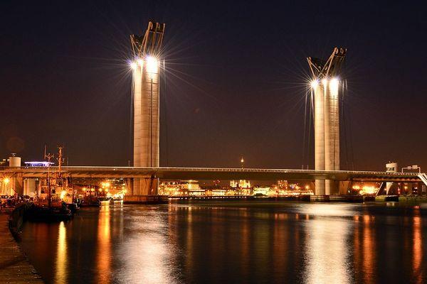Rouen, la nuit