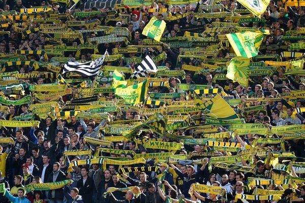 Les supporters nantais attendent avec impatience le match au sommet FCN-ASM le 30 mars