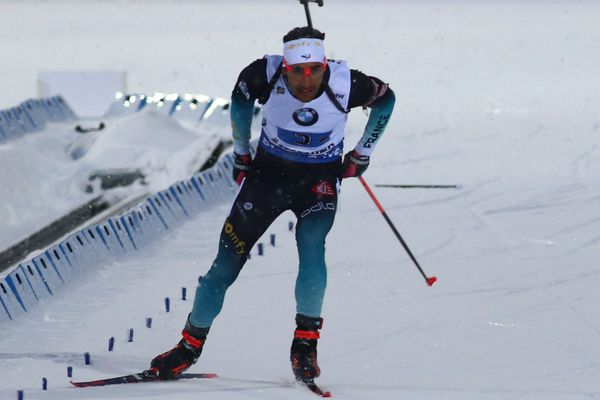 Archives - Martin Fourcade en mars 2019