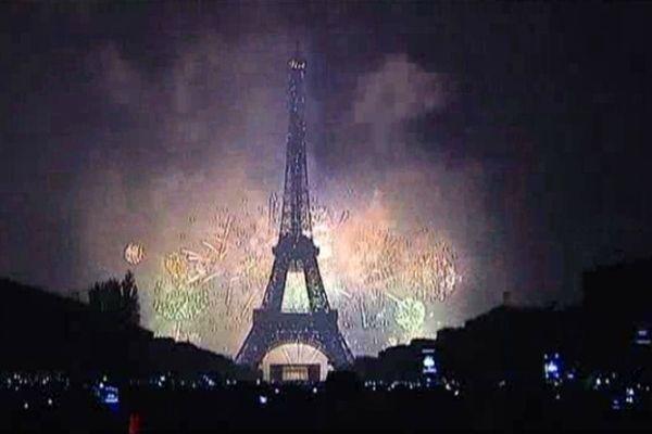 ARCHIVES Le 14 juillet 2013 : 700 000 personnes s'étaient rassemblées au Trocadéro et sur le Champs de Mars.