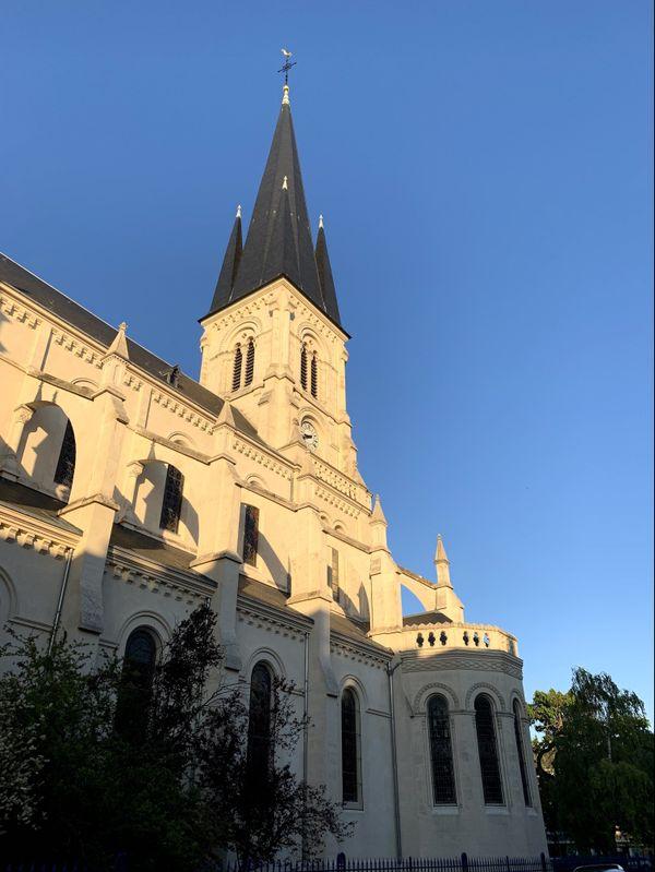 L'église Saint-André à Reims