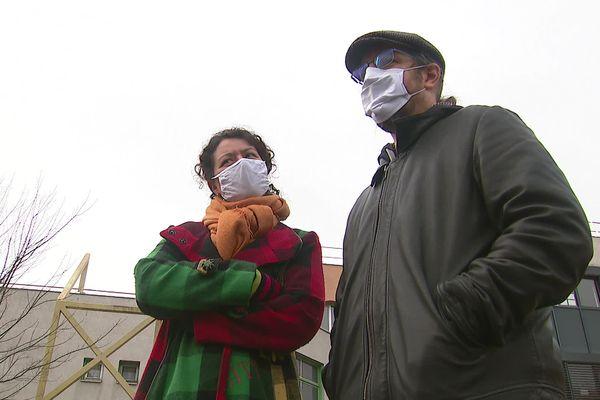 Deux enseignants du collège Lucie Aubrac, en grève de la faim depuis le 25 janvier 2021