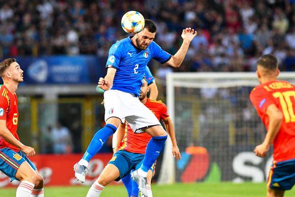 Arturo Calabresi avec la sélection nationale italienne U21 en juin 2019