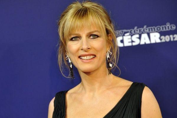 Karin Viard lors de la soirée des César 2012