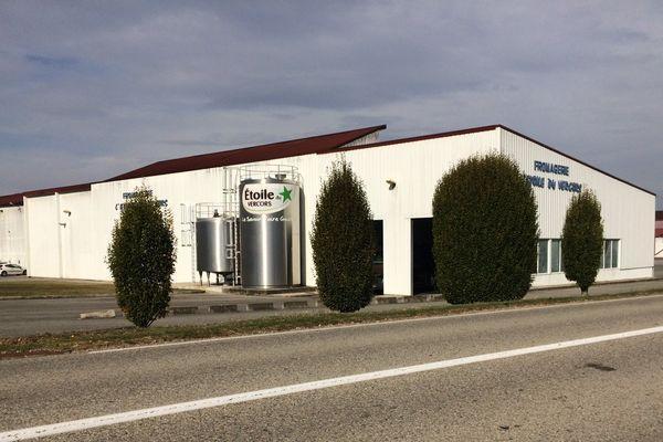 L'Etoile du Vercord, filiale de Lactalis, se situe sur la commune de Saint-Just-de-Claix en Isère