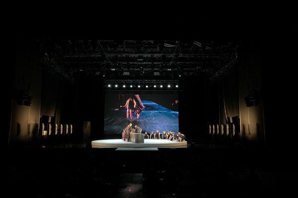 La compagnie Circa et son spectacle vivant autour du tango aux Nuits de Fourvière 2021.