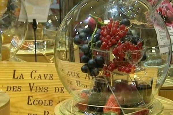 La cave aux arômes de l'Ecole des vins