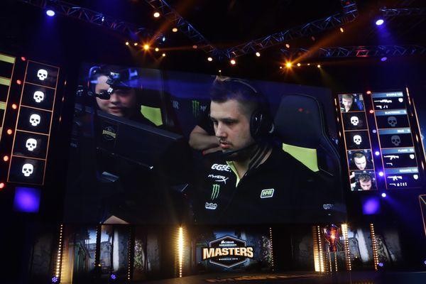 Le tournoi international de Counter Strike lors de l'édition de Marseille, en avril.