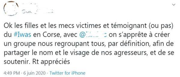 Sur Twitter, un groupe se constitue pour regrouper le nom des agresseurs
