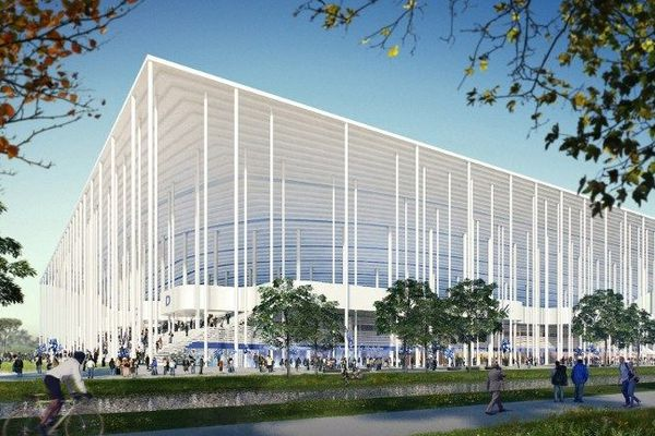 Dans deux ans, le nouveau stade de Bordeaux ne sera plus une maquette