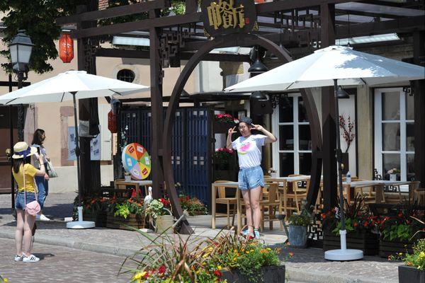 Le chinese restaurant à Colmar attire les touristes chinois