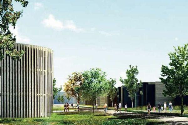 La cité des vins de Bourgogne à Beaune accueillera des équipements commerciaux et hôteliers.