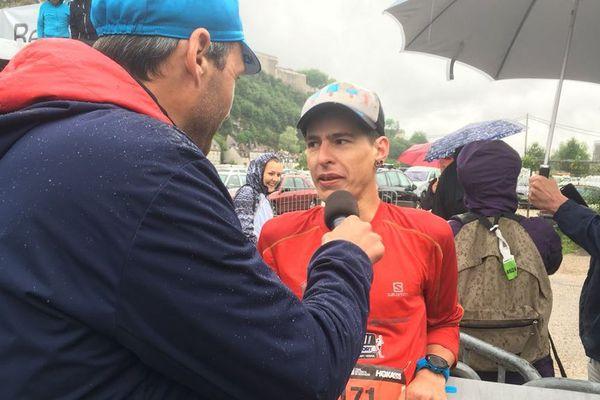 Aurélien Patoz vainqueur Trail des forts 2018 sur le parcours des 48 km