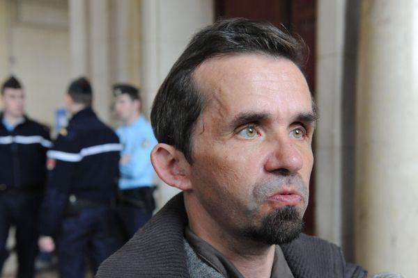 L'ancien magistrat Patrick Keil  le 17 février 2012 au palais de justice de Paris, après sa condamnation à un an de prison avec sursis pour avoir monnayé ses services. Révoqué de la magistrature au cours de l'été 2009, Patrick Keil, 48 ans, a été jugé coupable de corruption passive de magistrat et de violation du secret professionnel.