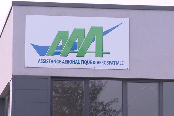 L'entreprise AAA (Assistance Aéronautique & Aérospatiale) située à Méaulte dans la Somme