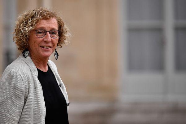 La minsitre du Travail Muriel Pénicaud, à la sortie du Conseil des ministres ce 26 novembre à Paris