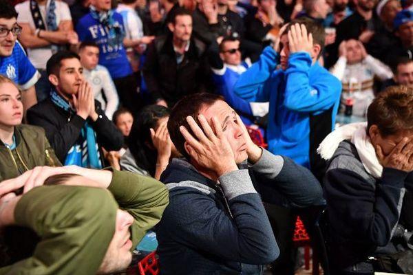 Tristesse et déception pour des milliers de supporters marseillais.