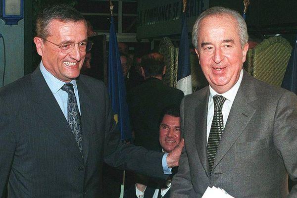 Philippe Léotard et Edouard Balladur