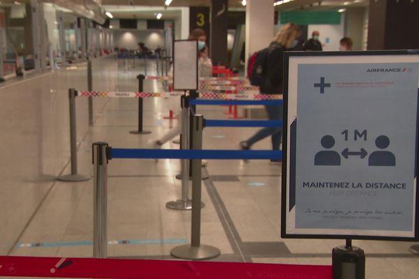 Le trafic en baisse à l'aéroport de Nantes-Atlantique