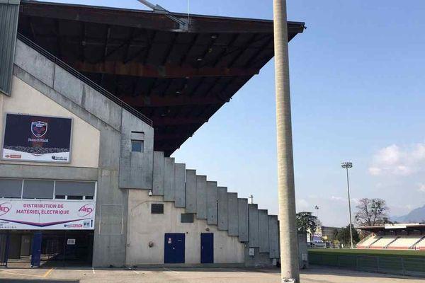 L'entraînement de ce jeudi 20 août 2020 au stade Lesdiguières a été annulé et transformé en séance de test pour l'ensemble de l'équipe du FCG.