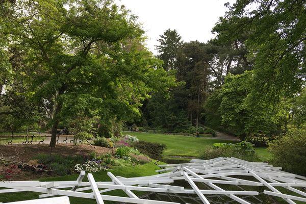Les parcs et les jardins nantais sont fermés ce dimanche, à cause d'une alerte aux vents violents