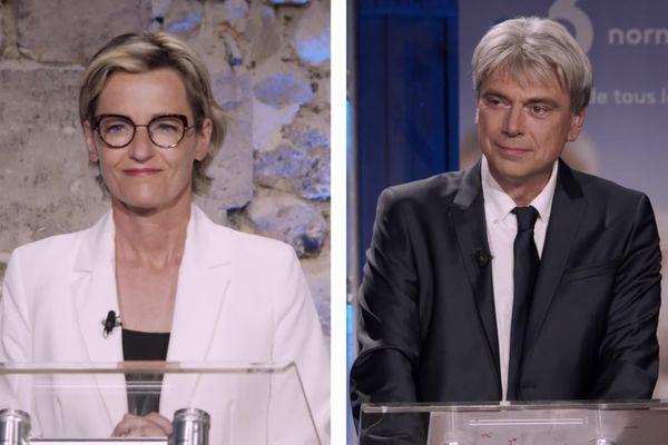 Mélanie Boulanger et Sébastien Jumel