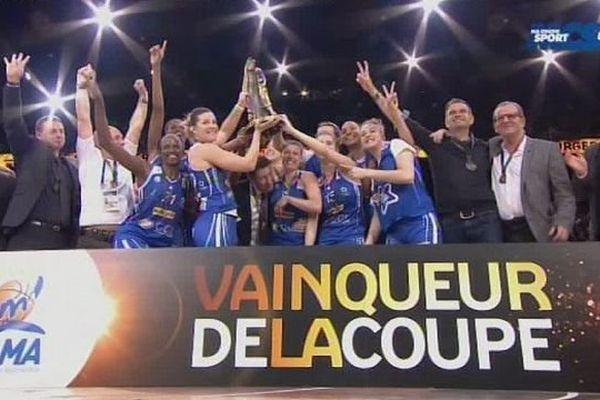 Les basketteuses montpelliéraines du BLMA remportent la coupe de France ce dimanche à Paris-Bercy.