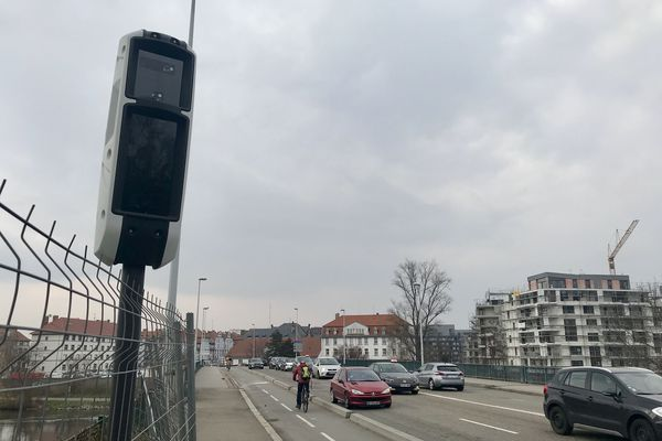 Le mesta fusion, le tout nouveau radar quai Pasteur à Strasbourg