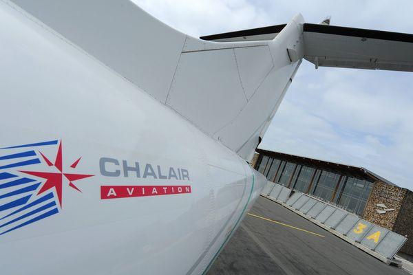 image d'illustration - avion Chalair - aéroport de Limoges.