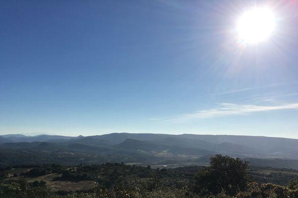Vue sur le territoire de l'Aude