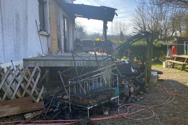 Un incendie s'est déclaré dans un pavillon, situé à Pontailler-sur-Saône, vendredi 14 février 2020