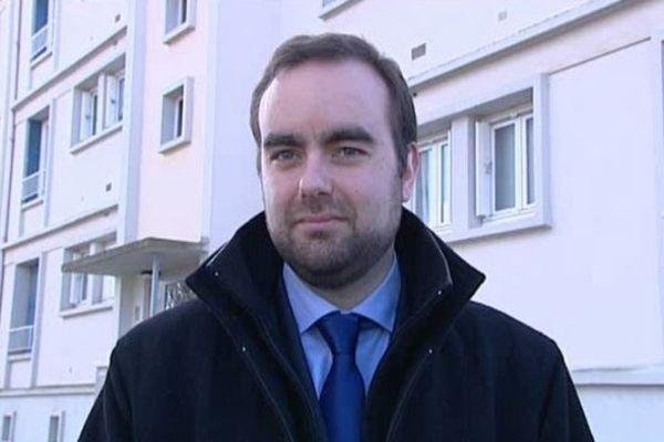 Sébatsien Lecornu, nouveau maire de Vernon